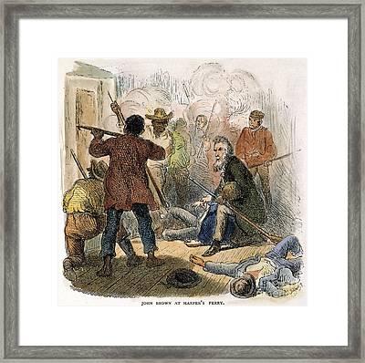 Harpers Ferry, 1859 Framed Print by Granger