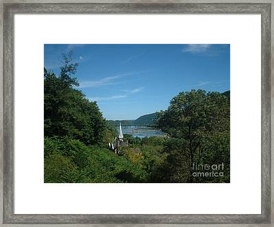 Harper's Ferry Long View Framed Print