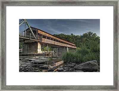 Harpersfield Road Bridge Framed Print