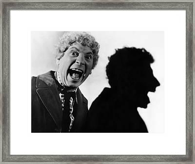 Harpo Marx (1888-1964) Framed Print by Granger