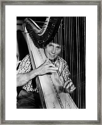 Harpo Marx, 1935 Framed Print by Granger