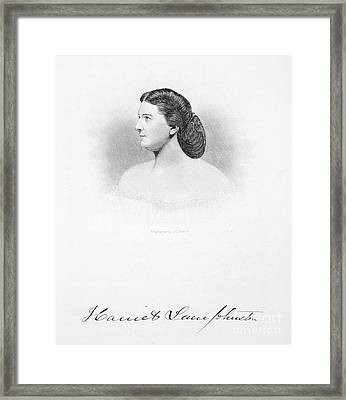 Harriet Lane Johnston Framed Print