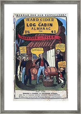Harrison: Almanac Cover Framed Print
