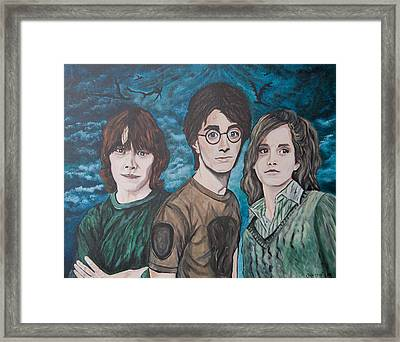 Harry And His Crew Framed Print