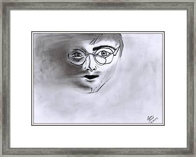 Harry Blurred Framed Print