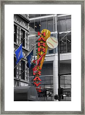 Harry Caray's Framed Print