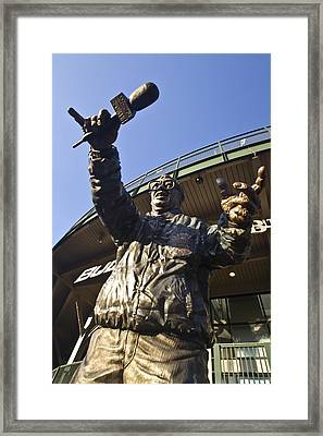 Harry Cary Sculpture Framed Print by Sven Brogren