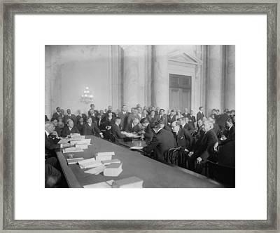 Harry F. Sinclair 1876-1956, At Mid Framed Print by Everett