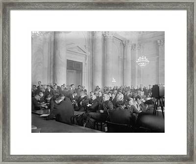 Harry F. Sinclair 1876-1956 Center Framed Print by Everett