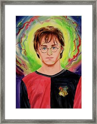 Harry Potter Framed Print by Ken Meyer