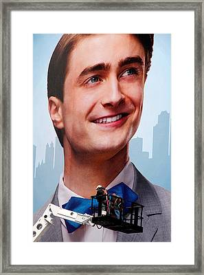 Harry Potter Times Square Framed Print by Andrew Fare