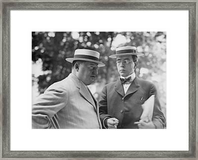 Harry Thaw 1871-1947, Accompanied Framed Print by Everett