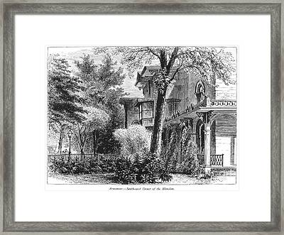 Hartford: Armsear Mansion Framed Print by Granger
