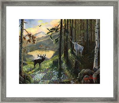 Harts Gambit Framed Print by Jeff Brimley