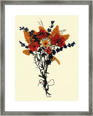 Harvest Bouquet Framed Print