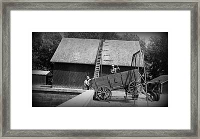 Framed Print featuring the photograph Harvest by Bonfire Photography