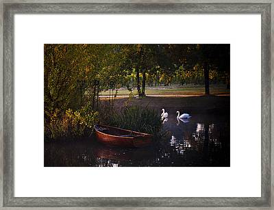Harvest Waters Framed Print