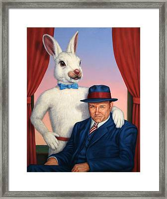 Harvey And Randall Framed Print by James W Johnson