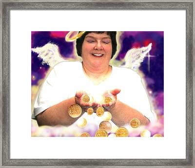 Harvey.angelic  Framed Print