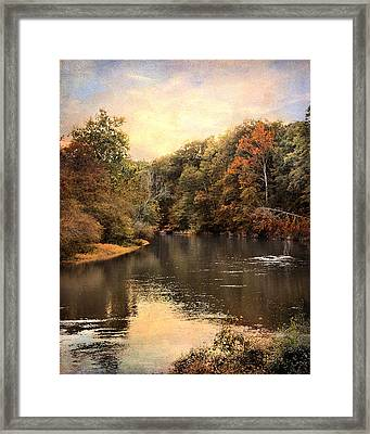 Hatchie River Framed Print by Jai Johnson