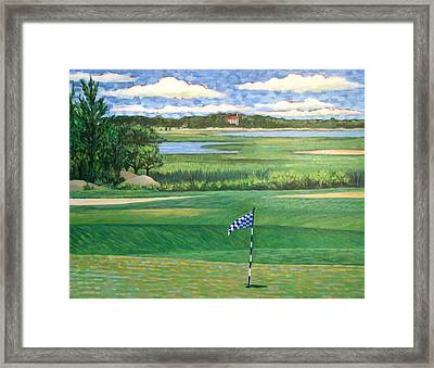 Hatherly Counrty Club Scituate Massachsetts Framed Print