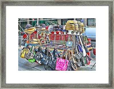 Hats And Handbags Framed Print by Paul Ward