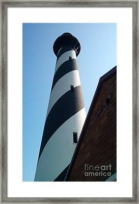 Hatteras Light Framed Print