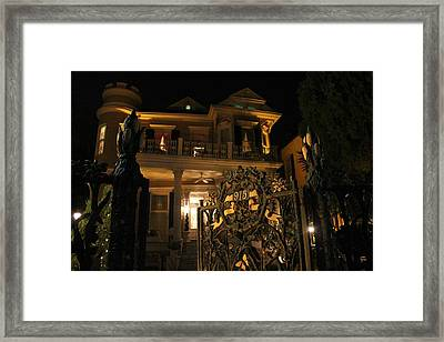 Haunt Framed Print by Rdr Creative
