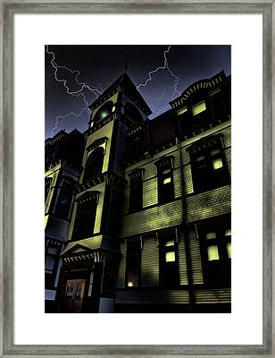 Haunted House Framed Print by Mark Sellers