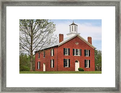 Haunted Framed Print by JC Findley