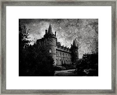 Haunted Framed Print by Laura Melis