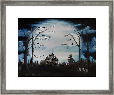 Haunted Mansion 2006 Framed Print by Shawna Burkhart