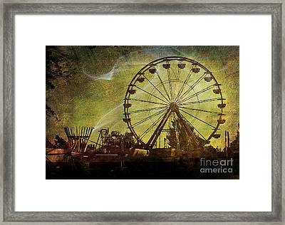 Haunted Midway Framed Print