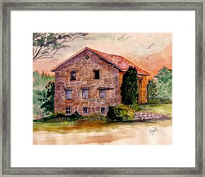 Haunting Remnants Framed Print by Marilyn Smith