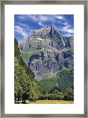 Framed Print featuring the photograph Haute Savoie by Rod Jones