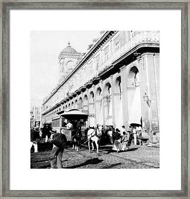Havana - Cuba - The Great Market - C 1899 Framed Print by International  Images