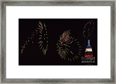 Have A Fifth On The Fourth Framed Print by Susan Candelario