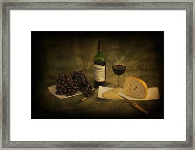 Have A Glass Of Red Framed Print
