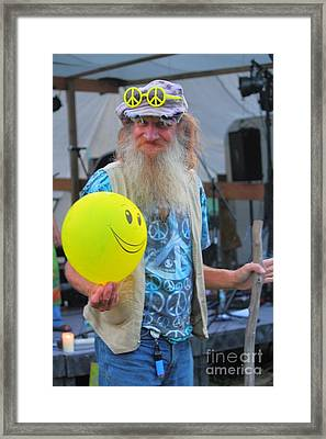 Have A Hippie Day Framed Print by Jesse Ciazza
