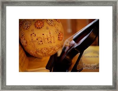 Have A Little Faith Framed Print by Anca Jugarean