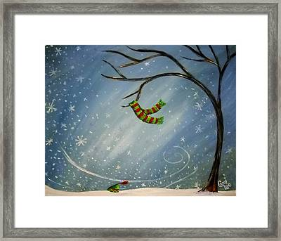 Have You Seen My Scarf Framed Print