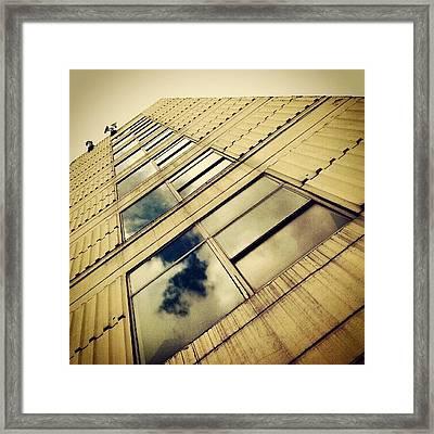 Havenbridge House #building #windows Framed Print