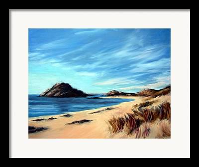 Havik Beach Framed Prints