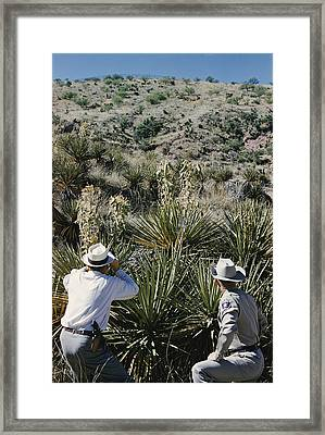 Having Received A Tip From An Informant Framed Print by Robert Sisson