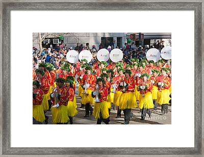 Hawaii All-state Marching Band II Framed Print by Clarence Holmes