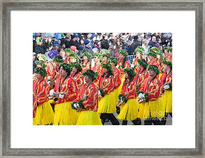 Hawaii All-state Marching Band Iv Framed Print by Clarence Holmes