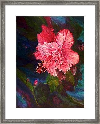 Hawaiian Favourite Framed Print by Marie Green