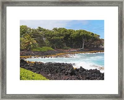 Framed Print featuring the photograph Hawaiian Paradise by Kerri Ligatich