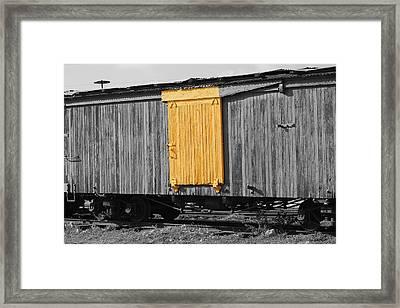 Hawaiian Railcar  Framed Print by Elizabeth  Doran