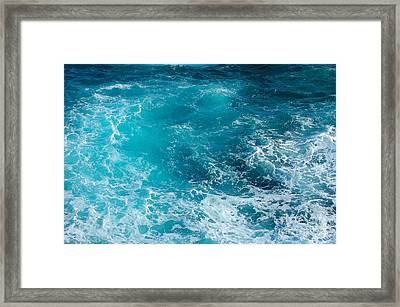 Hawaiian Waters 1 Framed Print
